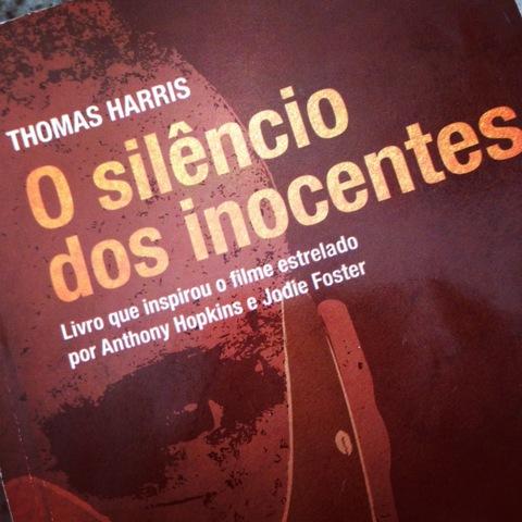 Livros: O Silêncio dos Inocentes (e O Dragão Vermelho)