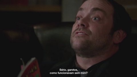 Supernatural: Blade Runners 9x16 s09e16 crowley