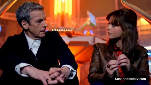 Doctor Who deep breahth s08e01 doctor clara