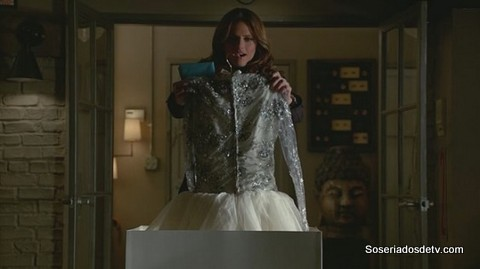 Castle Dressed to Kill 6x14 Beckett e o vestido de noiva
