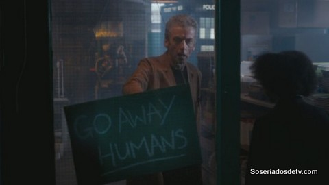 Doctor Who: The Caretaker (8x06) go away humans