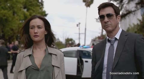 Stalker Pilot 1x01 Jack (mcdermont) e Davis (maggie q)