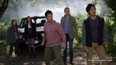the librarians and the heart of darkness 1x08 s01e08-001