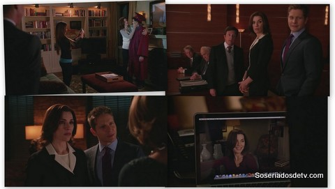 The Good Wife: The One Percent s05e21 5x21 Alicia Cary Canning Diane