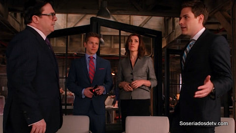 The Good Wife A Weird Year 5x22 s05e22 Hayden Cary Alicia Zeeps
