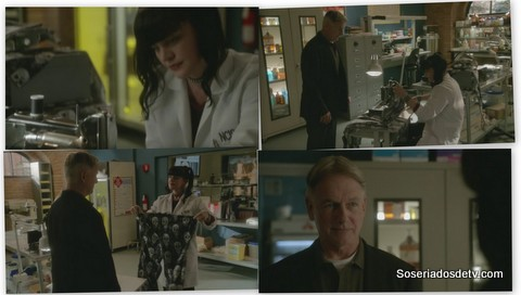 NCIS: The Artful Dodger 12x17 s12e17 Abby costurando pijamas