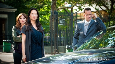 elementary the five orange pipz 3x02 s03e02 Holmes Watson Kitty