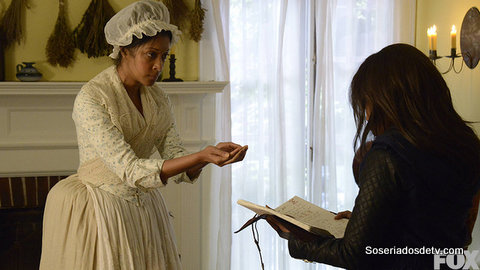 Abbie visits her ancester, Grace, who may be the only person left who can help.