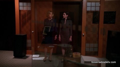The Good Wife 6×06 Old Spice s06e06 Diane Alicia