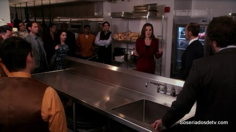 The Good Wife: The Debate (6x12) s06e12 Alicia Frank