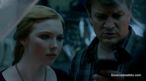 Castle In Plane Sight 7x21 s07e21 Alexis Castle