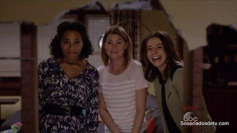 Grey's Anatomy: Sledgehammer 12x01 s12e01 Meredith Amelia Maggie