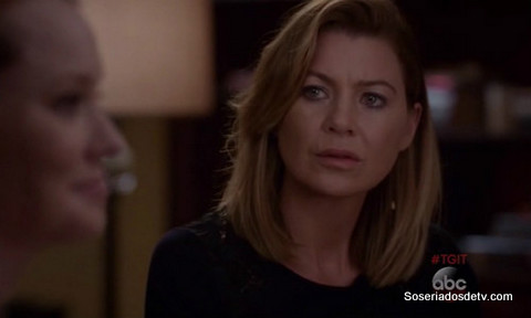 Grey's Anatomy Guess Who's Coming to Dinner 12x05 s12e05 Meredith Penny