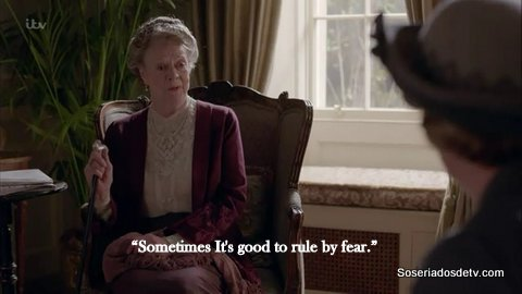 Downton Abbey Episode 6x01 s06e01 Violet