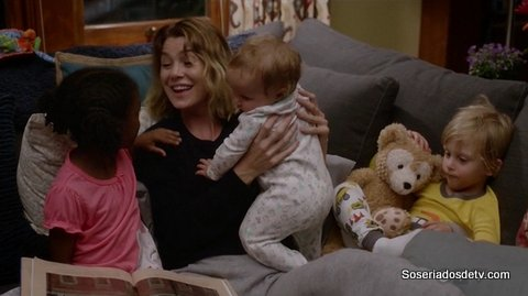 Grey's Anatomy Sounds Of Silence 12x09 s12e09 Meredith
