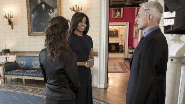 NCIS 3x21 s03e21 Gibbs Michelle Obama