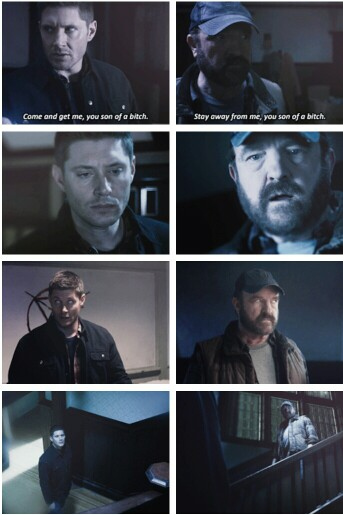 Supernatural Safe House 11x16 s11e16 Dean e Bobby
