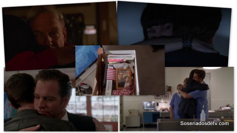 NCIS Family First 13x24 s13e24 Tony farewell - Despedida do Tony