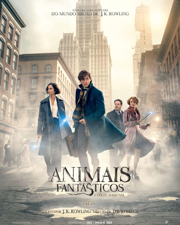 Animais Fantásticos ganha novo poster e trailer