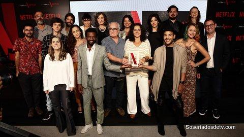 concorrentes e jurados prêmio netflix brasil