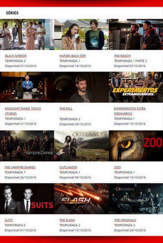 Estreias Outubro Netflix Brasil Séries