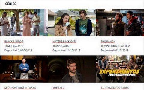 Netflix divulga agenda de estreias de Outubro
