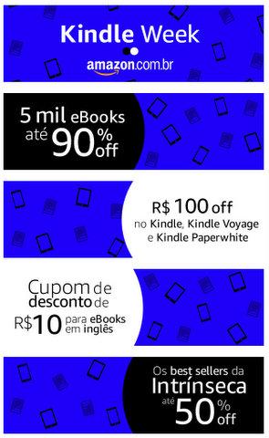 Começou a Kindle Week na Amazon Brasil