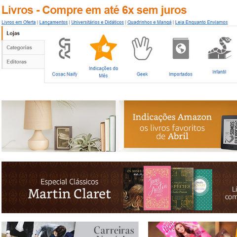 Amazon agora permite que pessoas físicas e jurídicas vendam livros em sua plataforma