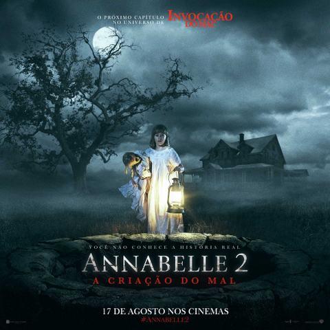 Annabelle 2 - A Criação do Mal não é imprevisível, mas capricha nos sustos e suspense, entregando um ótimo filme