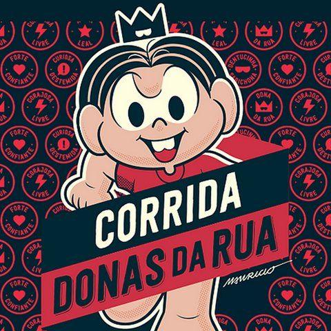 Maurício de Souza apresenta nova personagem da Turma na 1ª Corrida Donas da Rua