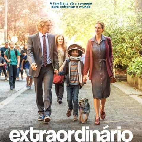 Kinoplex e a Paris Filmes realizam campanha por Um Sorriso Extraordinário