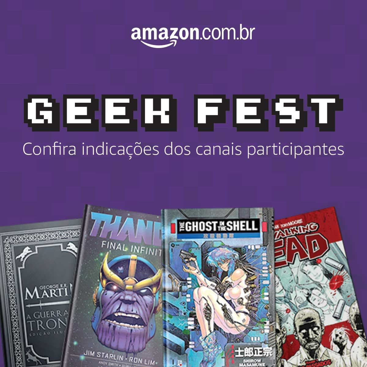 Tem Geek Fest na Amazon