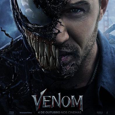 Sony Pictures divulga poster de Venom