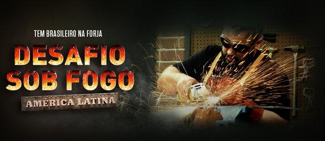 HISTORY estreia Desafio Sob Fogo América Latina