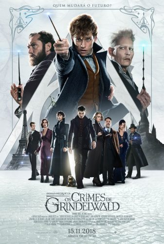 Cinema: Animais Fantásticos: Os Crimes de Grindelwald