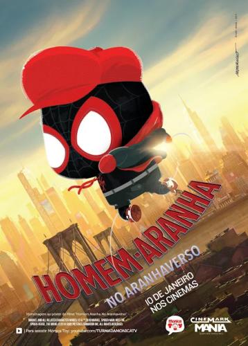 Cinema: Homem-Aranha: No Aranhaverso